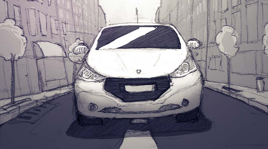 Peugeot model